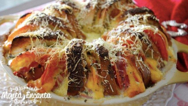 Torta Bauru de forno