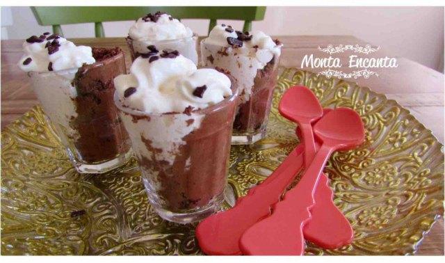 Mousse de Chocolate com Água