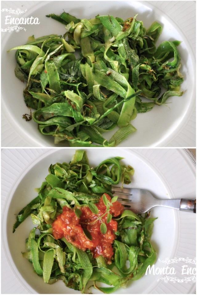 Espaguete de Abobrinha com tomatinho