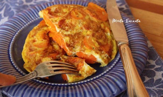 tortilha de cenoura