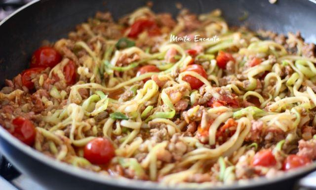 espaguete de abobrinha