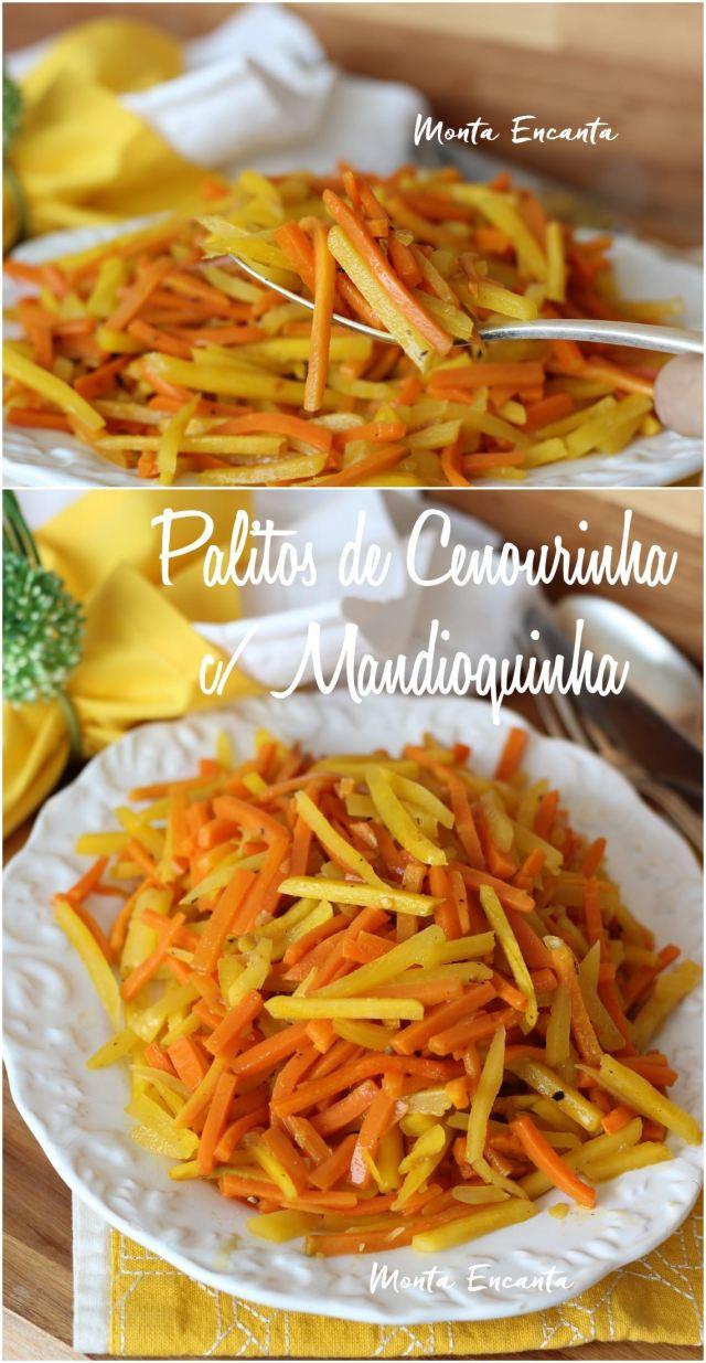 mandioquinha e cenoura