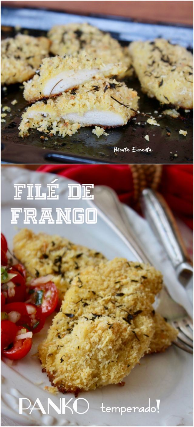 file de frango assado