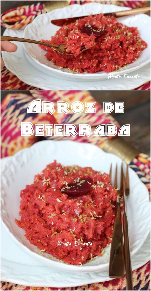 arroz de beterrabaarroz de beterraba