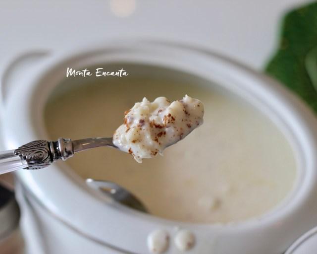 canjica de leite condensado