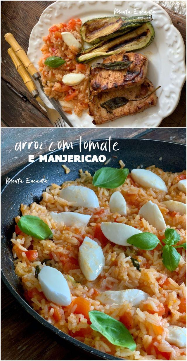 arroz com tomate