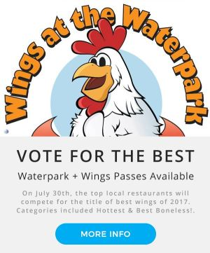Wings at the Waterpark | Montage Mountain | Boys and Girls Club NEPA