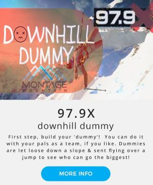 Montage Mountain | 97.9X Downhill Dummy