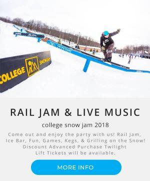 College Snow Jam   Rail Jam   Montage Mountain