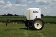 1700-gallon tank with cart