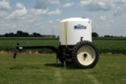 1700-gallon tank with cart
