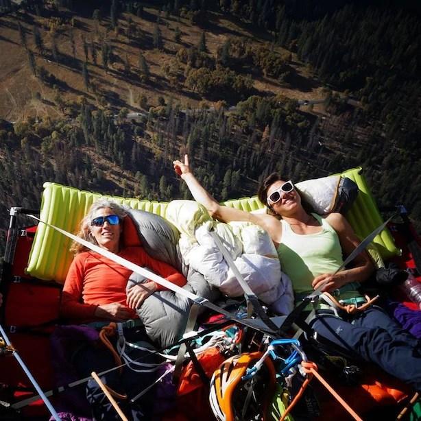 Lynn Hill, Nina Caprez, Yosemite, El capitan, The Nose, libera, climbing, arrampicata, anniversario