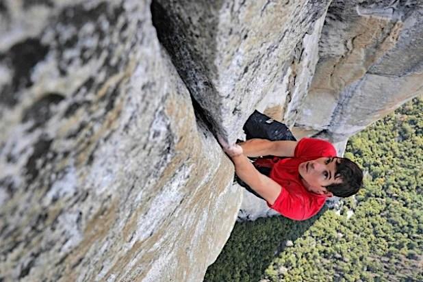 Alex Honnold, free solo, premio Oscar, documentario, El Capitan, Freerider