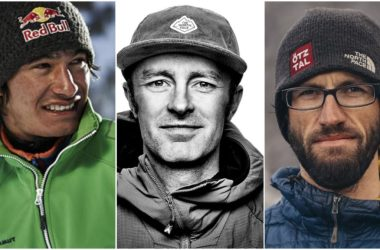 David Lama, Hansjorg Auer, Jess Roskelley, alpinismo