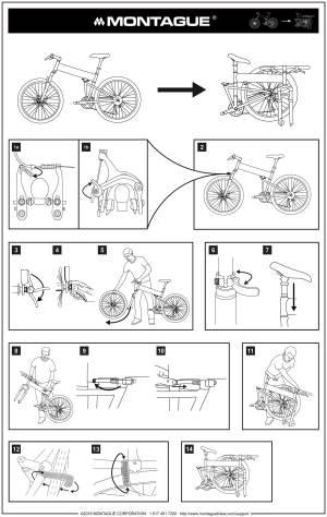Folding Instructions   Montague Bikes