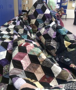Quilt by Gill Young, Frodsham Patchwork Group
