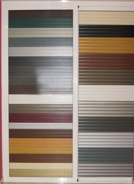Colores persianas aluminio barcelona carpinteria de for Colores de aluminio para ventanas