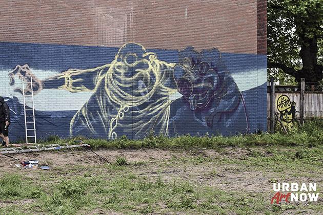 2014-05-30 Mural by Mr Zero - FatHeat - Boeki - TransOne - Team Budapest - web-5