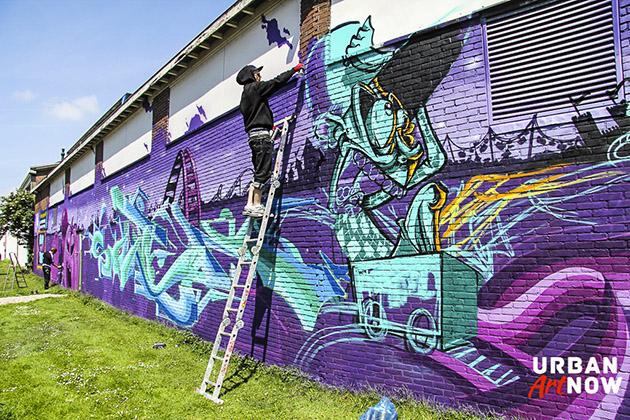 2014-05-30 Mural by Soten Tiws Reks Bomr Damn from Copenhagen - web-64
