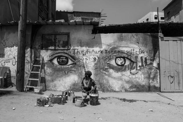 Herakut Eyes Of Gaza-13