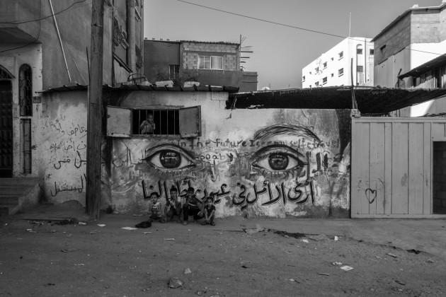Herakut Eyes Of Gaza-16