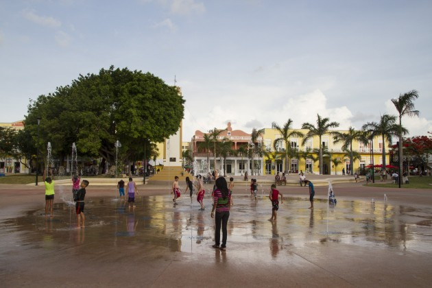 Cozumel Fountain_Photo by The Stills Agency