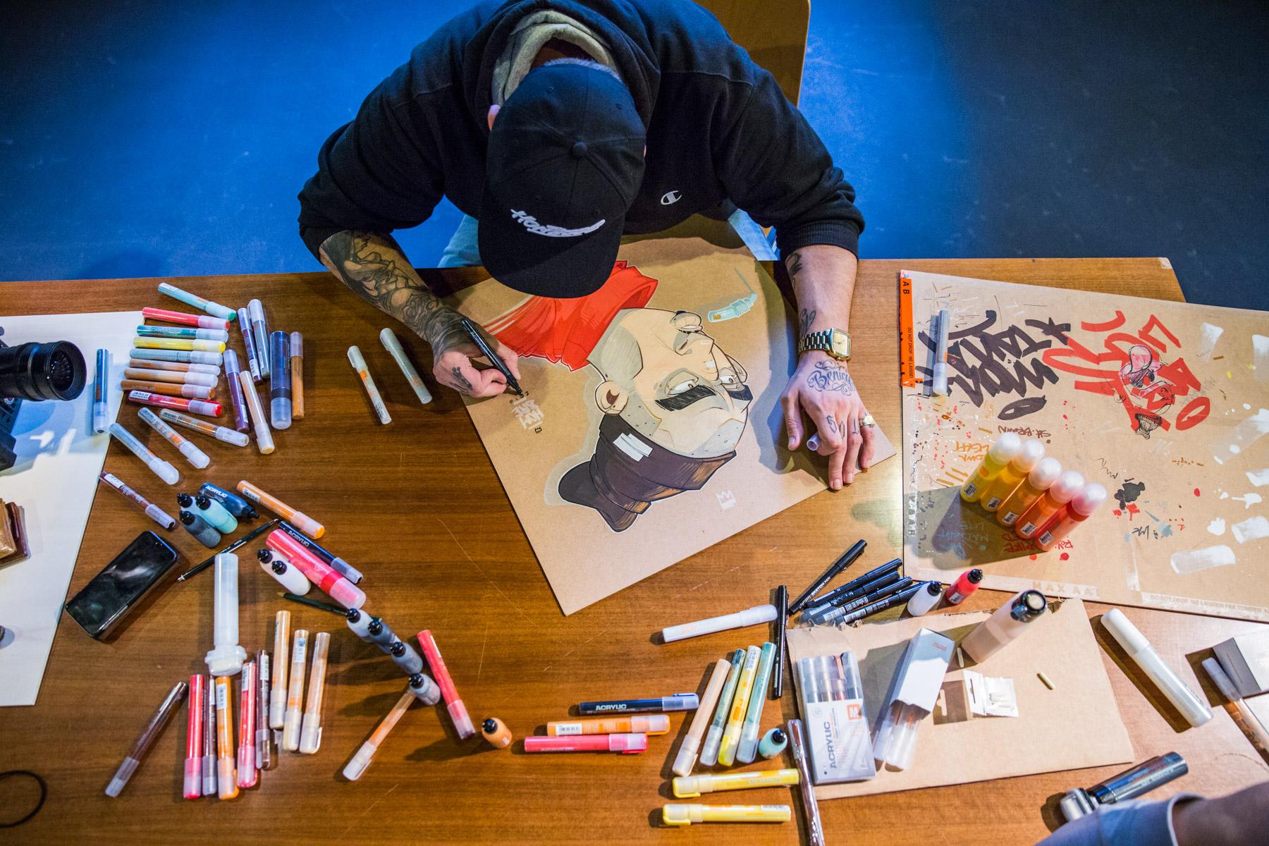 Montana Acrylic Marker Session Hombre