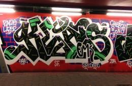 INTRODUCING GRAFFITI ARTIST KEATS