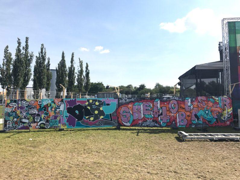 Spektrum 2017_Grossstatttraum Corner_Graffiti Jam_Arnd _ Grumbowski Koolski Superspray _ Bang