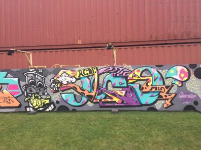 Spektrum 2017_Grossstatttraum Corner_Graffiti Jam_Ase One