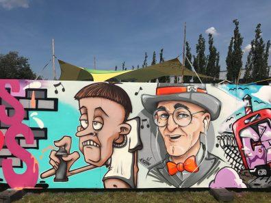 Spektrum 2017_Grossstatttraum Corner_Graffiti Jam_F.D.Katz _ Stereoheat