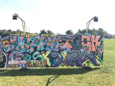 Spektrum 2017_Grossstatttraum Corner_Graffiti Jam_Grski_Friends