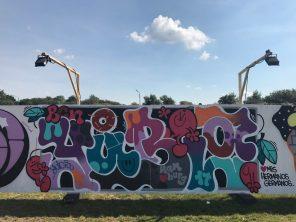 Spektrum 2017_Grossstatttraum Corner_Graffiti Jam_Yubia