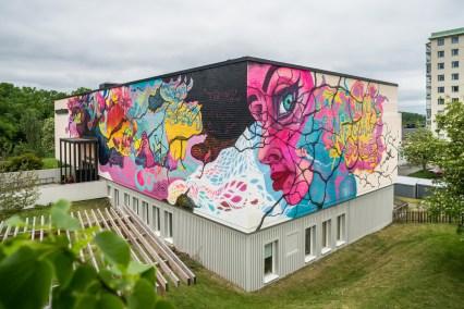 Untitled firewall, Jönköping, Sweden 2017