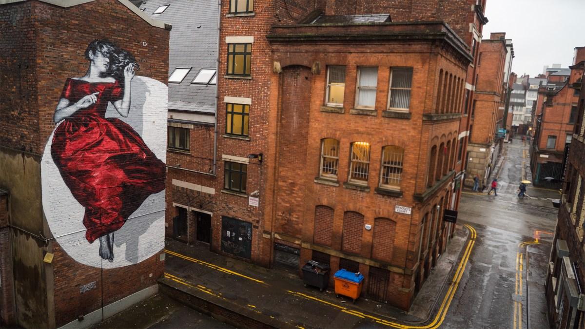 SNIK Serenity Mural Manchester