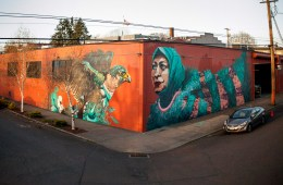TOGETHER WE RISE A PROJECT IN PORTLAND BY aptART