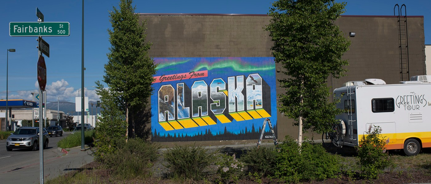 GREETINGS TOUR FROM ALASKA