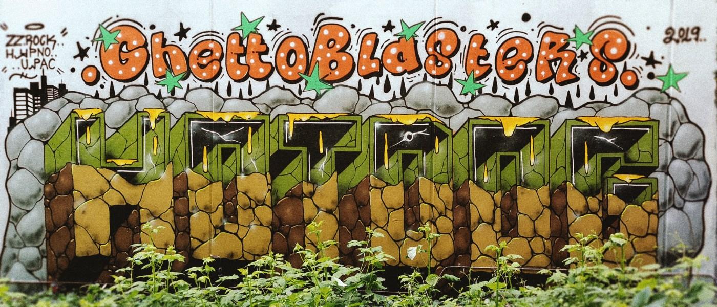 Superspray AKA Hotdog GBR13 Graffiti Update
