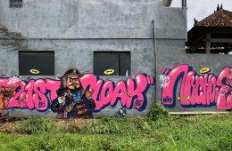 INTRODUCING GRAFFITI ARTIST CLOAKWORK