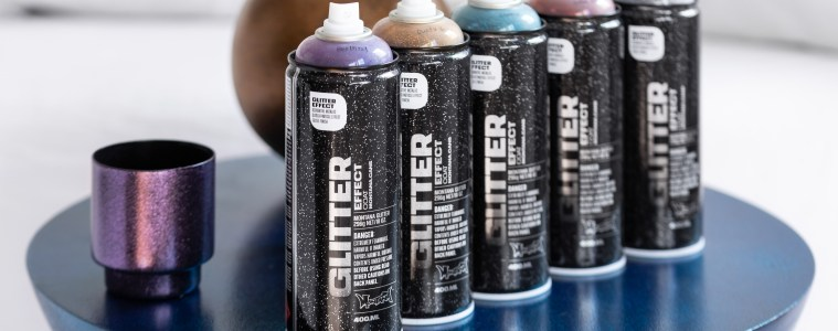 New Montana GLITTER Effect Colors available