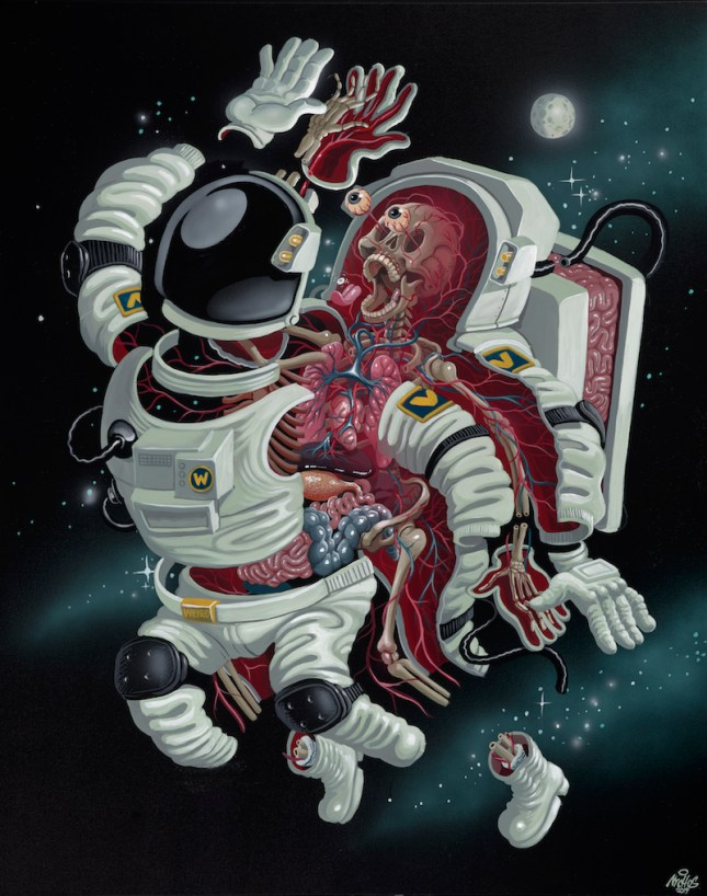 NYCHOS_Dissection of an Astronaut_60x48_2019