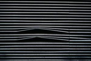 BLACK WINDOW BLIND