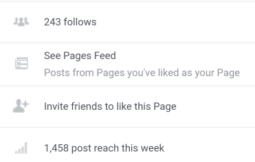 number of facebook likes for new blogger