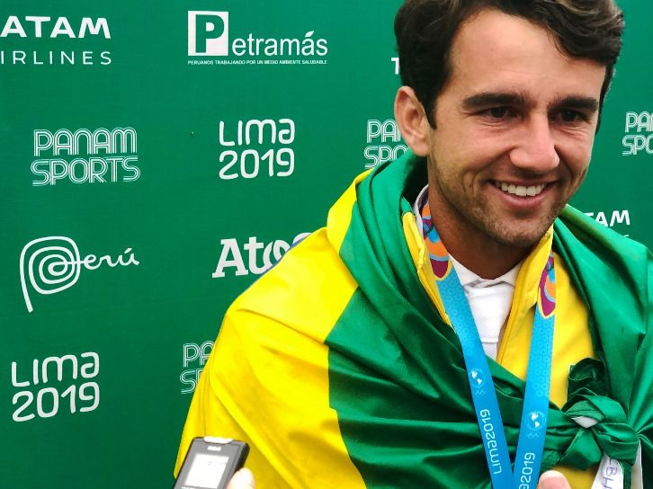Lima 2019 Modolo Z oro, Larocca plata, Madden bronce