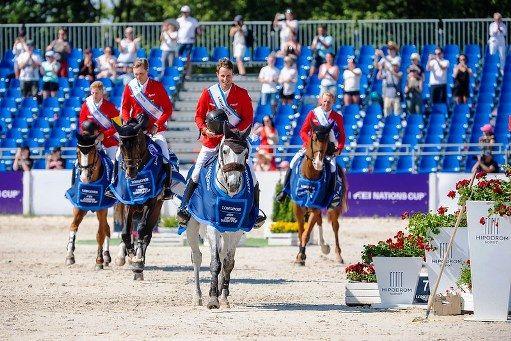 Alemania ganadores en la Copa de Naciones de Polonia en Sopot
