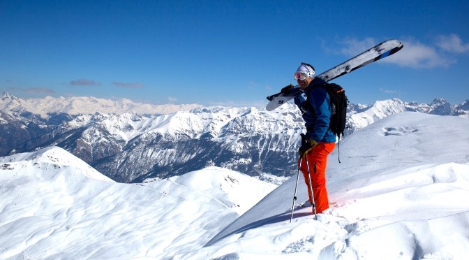 Test terrain des skis de rando freeride Black Diamond Megawatt