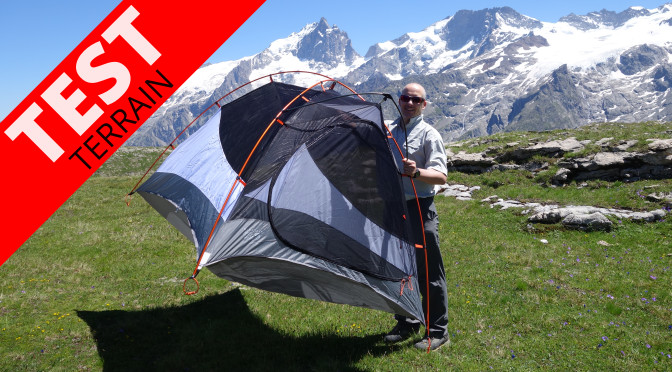 Test de la tente Mountain Hardwear Lightwedge 2 DP