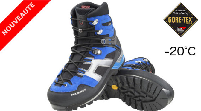 Nouvelle chaussure Mammut Magic High GTX : -20°C !