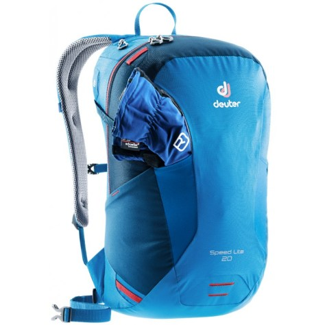 Dos du sac à dos Deuter Speed Lite 20 bleu