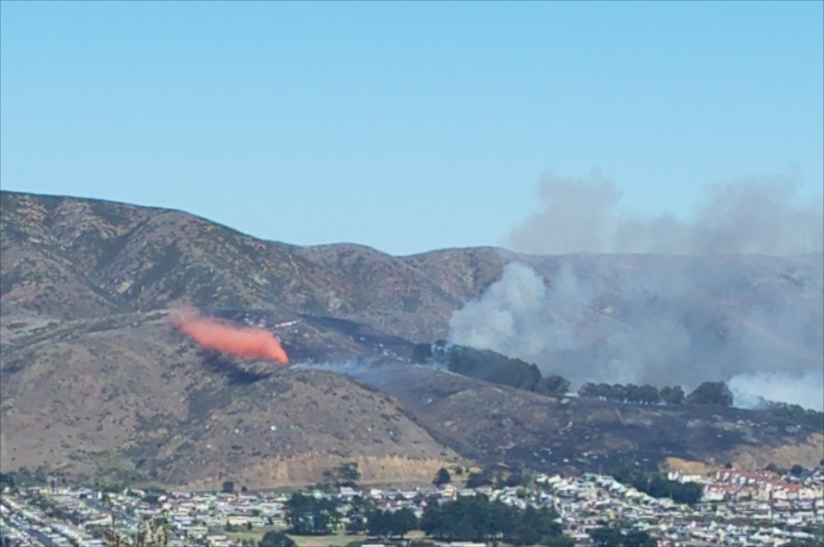San Bruno Mountain Fire 4